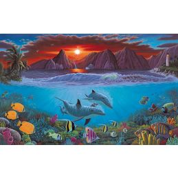 Painting By Numbers Ocean Life