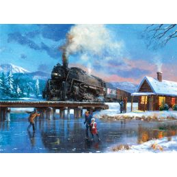 Painting By Numbers Winter Magic