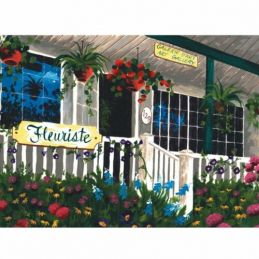 Painting By Numbers Flower Shop