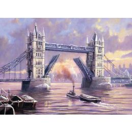 Painting By Numbers London Tower Bridge