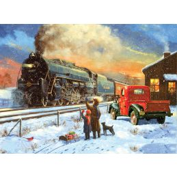 Painting By Numbers Home For Christmas