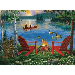 Painting By Numbers Lakeside Retreat