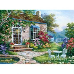 Painting By Numbers Spring Patio
