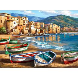 Painting By Numbers Spiaggia Della Citta