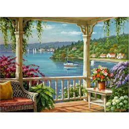 Painting By Numbers Silver Lake Veranda