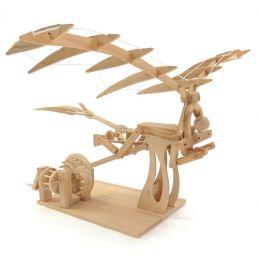Leonardo da Vinci Ornithopter Working Wooden Model Kit