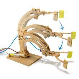Pathfinders Hydraulic Robotic Arm Working Wood Model Kit