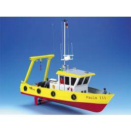 Paula Work Ship with Salvage Crane Kit - Optional Buoy Set