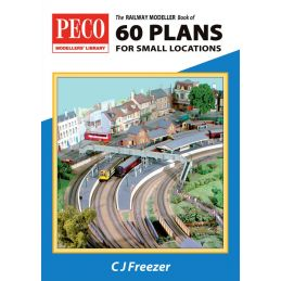 Peco The Railway Modeller Book of 60 Plans for small locations