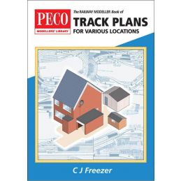 Peco The Railway Modeller Book of Track Plans for various locations