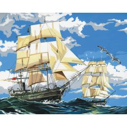 Canvas Ships Painting Kit