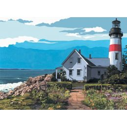 Canvas Lighthouse Painting Kit