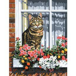 Canvas Cat Painting Kit