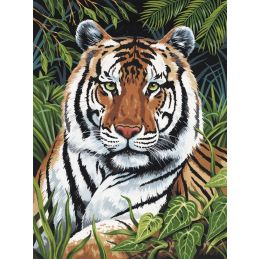Canvas Tiger Painting Kit