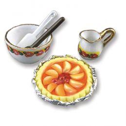 Reutter Porcelain Peach Pie Time