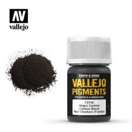 Vallejo Pigments - Carbon Black