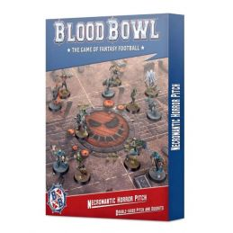Warhammer Necromantic Horror Pitch Double-Sided Pitch And Dugouts