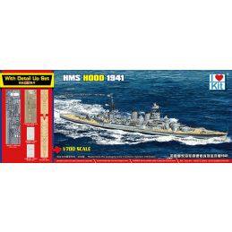 1/700 HMS Hood 1941 Plastic Model Kit