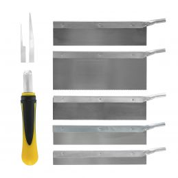 Model Craft 8Pc Saw Set with Case