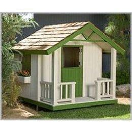 Cottage Playhouse Plan
