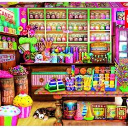 Candy Shop 1000 Piece Jigsaw Puzzle