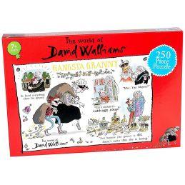 David Walliams Gangsta Granny Jigsaw Puzzle 250 Pieces