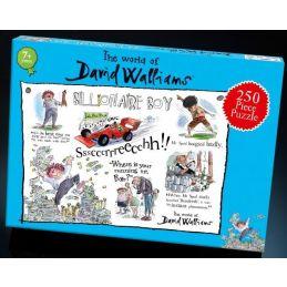 David Walliams Billionaire Boy Jigsaw Puzzle 250 Pieces