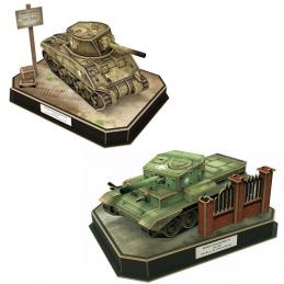 CubicFun 3D Tank Puzzle Deal