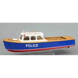 Police Launch Model Boat Kit
