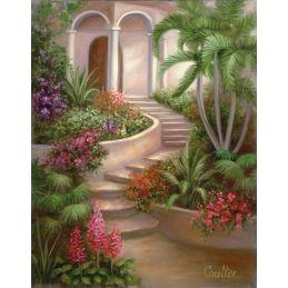 Paint Your Own Masterpiece Spanish Garden