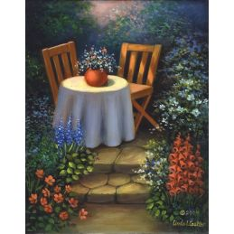 Paint Your Own Masterpiece Garden Table
