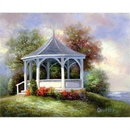 Paint Your Own Masterpiece Lakeside Gazebo
