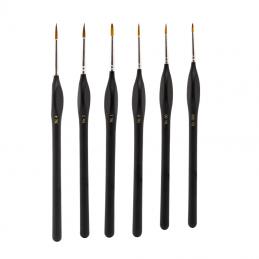 Model Craft Fine Synthetic Brush Set of 6