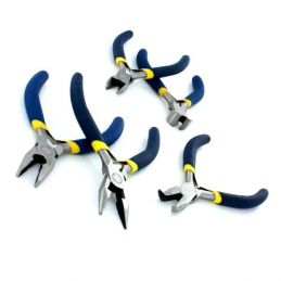 5 Piece Mini Plier and Cutters Set and Case