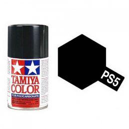 Tamiya Black Polycarbonate Spray Paint
