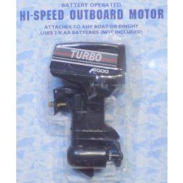 Hobbies Hi-Speed Outboard Motor for Model Boat or Dinghy
