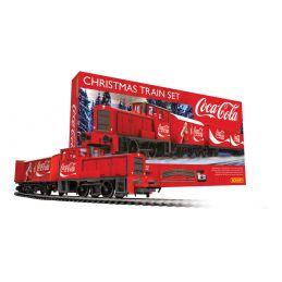 The Coca Cola Christmas Analogue Train Set