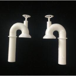 2 X Swan Neck Ventilators