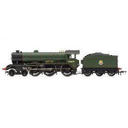 BR, B17/4 Class, 4-6-0, 61619 Welbeck Abbey - Era 4