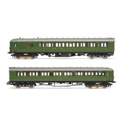 SR, 2-BIL, Unit 2152; DMBT(L) No. 10718 and DTC(L) No. 12185 - Era 3