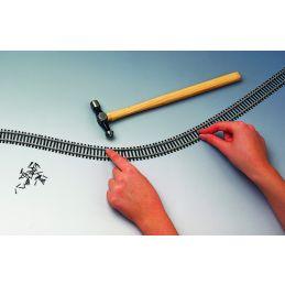OO Gauge Flexible Track (970mm)