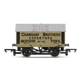 Crawshay Brothers, 8T Lime Wagon, No. 136 - Era 2/3