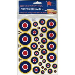 RAF Roundels for Dark Surfaces (Type C1)