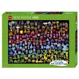 Heye Puzzles Doodle Rainbow 1000 Piece Jigsaw