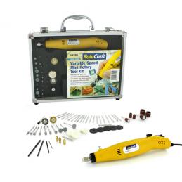 Rotacraft Rc18 Variable Speed Rotary Tool Kit