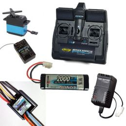 Radio Control Package For Small to Medium Boats