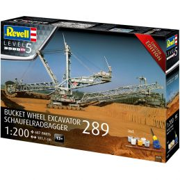 Revell Bucket Wheel Excavator 289 Limited Edition 1:200 Scale