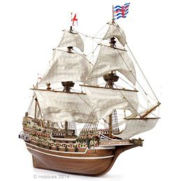 Occre HMS Revenge Galleon Wood and Metal Model Boat 1:85 Scale Ship