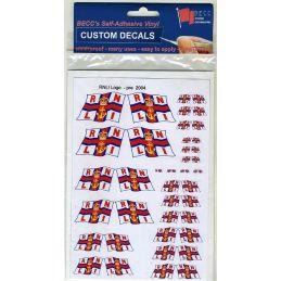 RNLI Pre 2004 Modern Logo Vinyl Flag