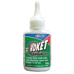 Deluxe Materials Roket Odourless Cyanoacrylate Super Glue